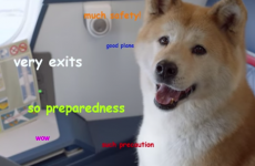 How many memes can you recognise in this epic airline safety video?