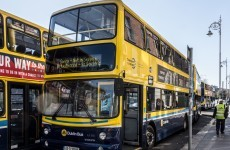 A Dublin bus has turned away a wheelchair-user...