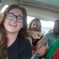 These pals wanted to film a cute car singalong, but it went very wrong indeed