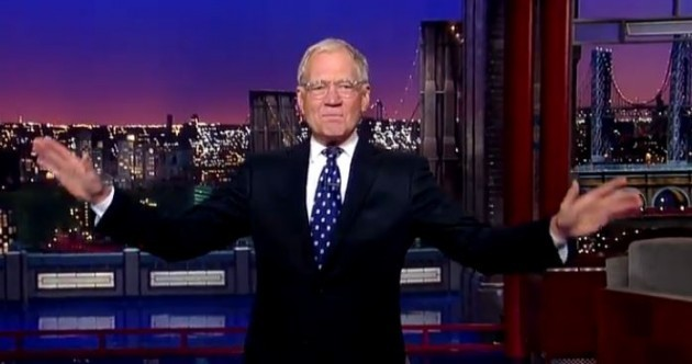 """Our long national nightmare is over"": Ex-presidents give Letterman the send-off he deserves"