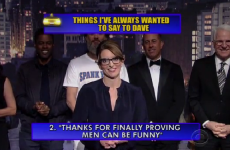 David Letterman officially retired last night, and got all his celeb mates to make fun of him
