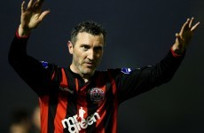 Jason Byrne nearly worked some late, late magic for Bohs again