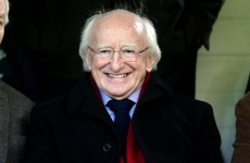 President Higgins was in Drogheda tonight - but things were Hunky Dory for the hosts, not Galway