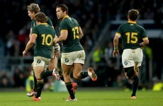 The Springboks are trying to intimidate Joe's Ireland with this World Cup pump-up video
