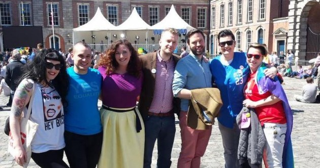 """Everything changes with this"": Tears, relief (and sunscreen) at a jubilant Dublin Castle"