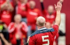 'That is probably the last time that I play for Munster here' - Paul O'Connell