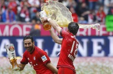 Bayern Munich celebrated their league title win with a 6th year holiday amount of beer