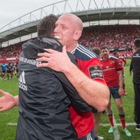 Pics: Paulie waved an emotional farewell to Thomond Park this afternoon