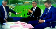 Having condemned sledging, Joe Brolly might just have crossed the line on The Sunday Game