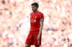 Despite scoring, Gerrard's final Liverpool game turned into a bit of a nightmare
