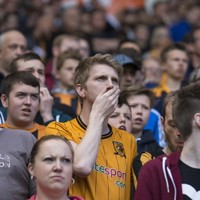 Hull relegated amid emotional scenes after TWO goals disallowed against United