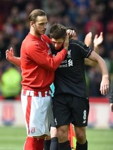 Here is Steven Gerrard's last-ever goal for Liverpool