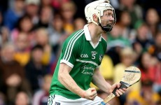 Limerick's newest hurling star embraced playing on a 'field of legends'