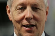 Peter Robinson has had a suspected heart attack