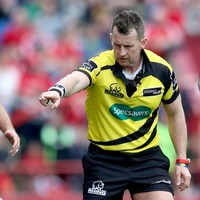 Munster and Glasgow will have the world's best referee in charge of their Pro12 title tilt