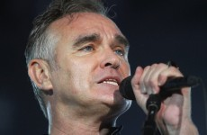 Morrissey congratulated Ireland on marriage equality... and then gave out to us