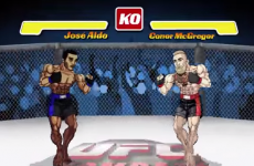 Fans of Street Fighter will love this Brazilian TV ad for Aldo v McGregor