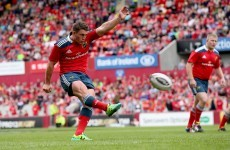 Munster confident out-half Ian Keatley will step up in Pro12 finale