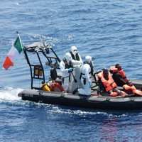 Watch: 200 migrants rescued by Irish Naval ship LÉ Eithne off Libyan coast
