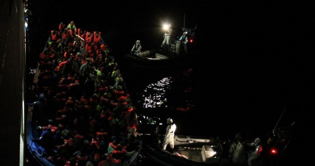 Pictures: 500 migrants rescued - as LÉ Eithne carries out THREE operations in 24 hours