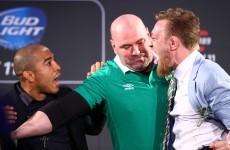 Jose Aldo's coach: 'McGregor is not bullshit, he's the real deal'