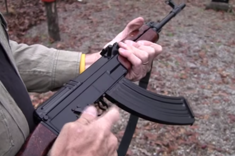 File photo of a VZ58