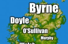Do you have one of Ireland's most common surnames?