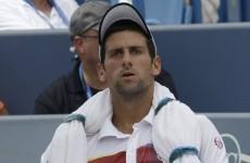 Here's how Novak Djokovic is preparing for Conor Niland