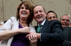 Fine Gael and Labour have surged in the latest poll