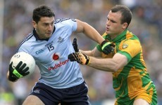 Back to reality: Bernard Brogan begins his accounting exams
