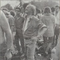 Everyone is sharing this excellent photo of a young Michael D. Higgins at Slane