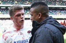 Owen Farrell escapes punishment for this dangerous tackle in the Premiership final
