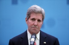 Former Presidential contender John Kerry has fallen off his bike and will be leaving Europe
