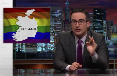 John Oliver brilliantly discussed Ireland's same-sex marriage vote last night