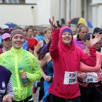Pics: Plenty of rain but even more smiles as 37,000 run Women's Mini Marathon