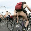 """Overexcited"" man told to ""put his jeans on"" and leave World Naked Bike Ride"