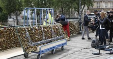 You may have thought it would last forever, but your Paris love lock is probably now gone