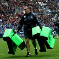 Leinster's scrum coach follows Matt O'Connor through the exit door