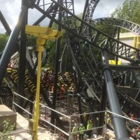 One man, three teenagers seriously injured after collision on Alton Towers rollercoaster