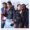 Pharrell saved Kim Kardashian from a burning dress - by jumping on her