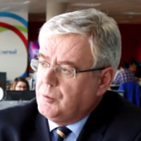 Gone: Eamon Gilmore is leaving the Dáil