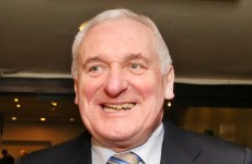 Bertie: Bank crisis was the reason I went grey in just six months