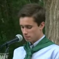 Watch as this student gives the emotional speech he was banned from giving