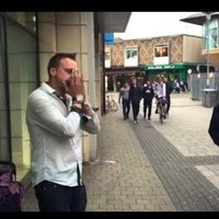 A beatboxing harmonica player used his amazing talent to help a homeless man