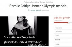 Thousands have signed a petition to take Caitlyn Jenner's Olympic medal off her