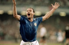 'Don't wake me up, let me enjoy the dream': The eternal sadness of Toto Schillaci