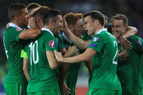 Ireland have leapfrogged Zambia and South Africa.