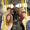 Do you know what Irish people love? Taking the bus...