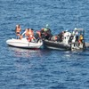 """""""Dehydrated but alive"""": Irish Naval ship LÉ Eithne rescue migrants off the coast of Italy"""