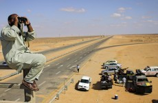 Rebels 'closing in' on Gaddafi